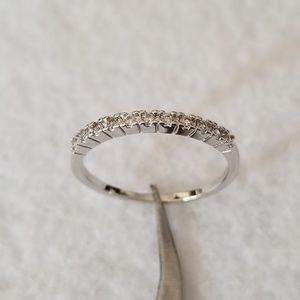 Jewelry - Classic Sterling Pave Band